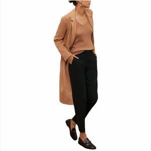 Aritzia Babaton Floyd Black Trouser Pants